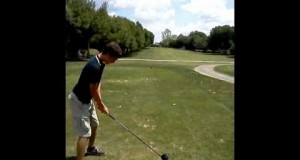 14 year old golfer – cobra s3 driver- rate my swing – 9 handicap
