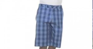adidas Golf Men's Fashion Performance Plaid ShortSKU#:7971857
