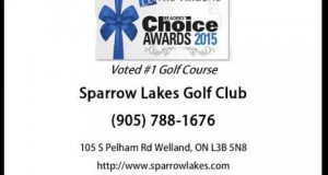 Best Golf Course in Welland – Sparrow Lakes Golf Club (905) 788-1676