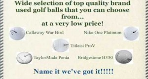 Buy Cheap Used Golf Balls Online