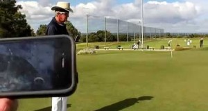 FOCUSBAND – PGA Instructor Nick McCormack test drive at Adelaide Shores Golf Course