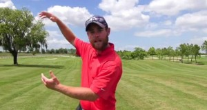 Gravity Golf Lesson  – Training The Down Swing