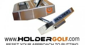Hit long putts with a Holder Golf Putter