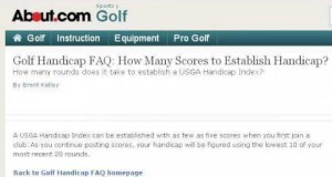 How-To Handicap A Golf Score