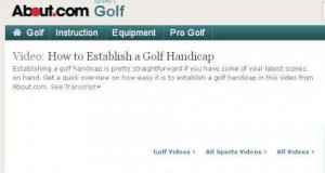 How-To Handicap In Golf
