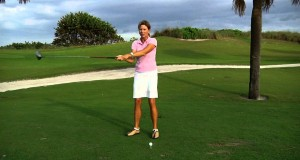 Kellie Stenzel Gives Advice to Golfers Who Hit a Slice
