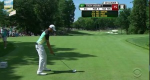 Troy Merritt's Best Golf Swing All Week 2015 Quicken Loans PGA Tour